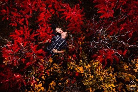 Trent Gillespie, del Colorado, è un fotografo di matrimoni per