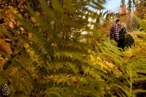 Esther Gibbons, of Quebec, is a wedding photographer for
