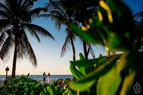 Melissa Mercado, van Quintana Roo, is een trouwfotograaf voor
