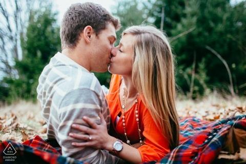 Ron Storer, de Washington, est un photographe de mariage pour