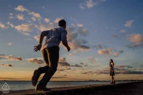 Orlando Suarez, uit Georgia, is een trouwfotograaf voor