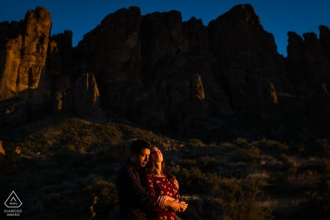 Rebekah Sampson, of Arizona, is a wedding photographer for