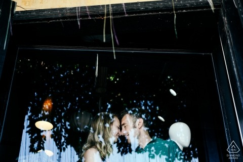 Tam Nguyen, of , is a wedding photographer for