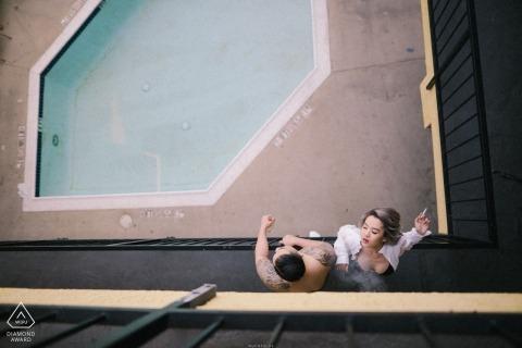 Thinh Phan, uit Arizona, is een trouwfotograaf voor