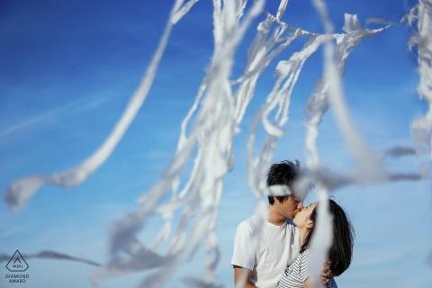 Tam Nguyen, of, is een trouwfotograaf voor