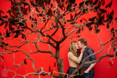 Matt Theilen, uit Californië, is een trouwfotograaf voor
