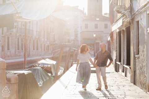 Marta Buso, of Venezia, is a wedding photographer for