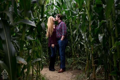 Geoff Hansen, del Vermont, è un fotografo di matrimoni per