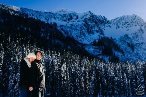 Logan Westom, de Washington, es un fotógrafo de bodas para