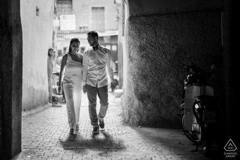 Sylvain Bouzat, of, ist ein Hochzeitsfotograf für