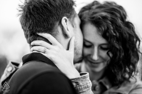 Brno engagement ring with couple | Engagement Photography