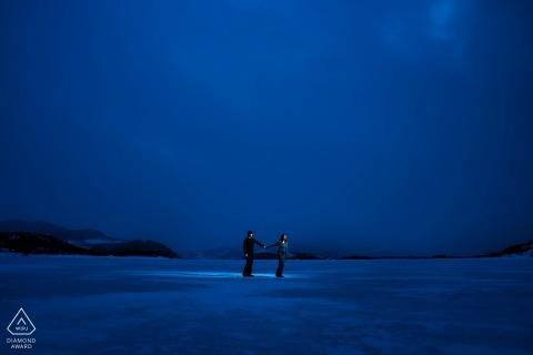 Dillon Reservoir, CO Photographe de fiançailles | Mariages au Colorado