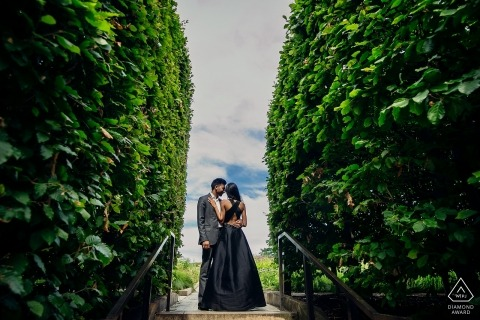 chicago Illinois Engagement Formal Outdoor PhotoShoot