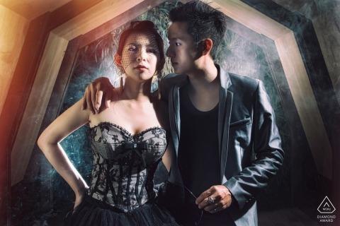 Taiwan Hualien PRE-WEDDING Engagement PhotoShoot with Smoke