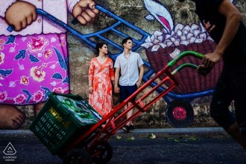 Pre-wedding Phuket-portretten | Urban Engagement Photographer