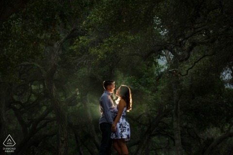 California - Southern Weddings - Glendora Mountains Engagement Session in the Rain