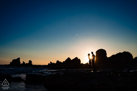 California Southern Laguna Beach | Shine Like The Sun during your engagement portrait session