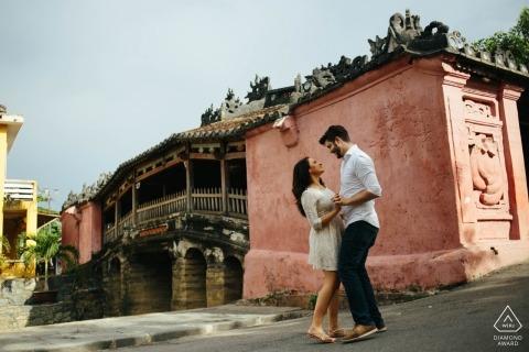 Hochzeit in Hoi An Vietnam - Verlobungsfoto-Shooting mit Paaren