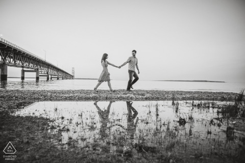 Beach Engagement Session - Maryland Engagements