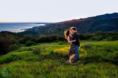 Los Angeles Engagement Portrait