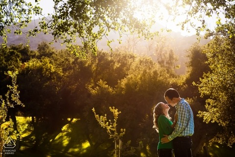 Griffith Park Engagement Session in CA