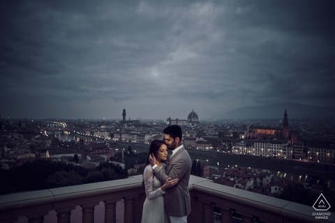 Love Story in Florence - Engagement Photographer
