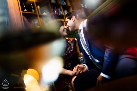 Fotografía de compromiso de California | Amor en el lugar donde se conocieron.