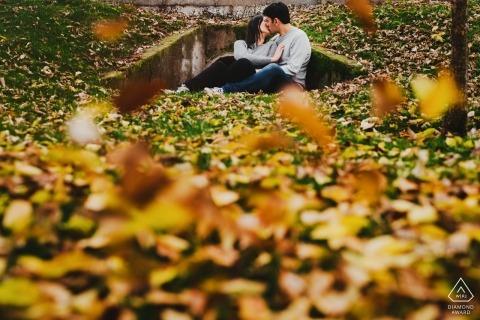 Alternatieve pre-huwelijkssessie - Valladolid Engagement Photos