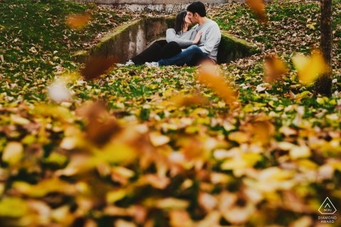Alternative pre-wedding session - Valladolid Engagement Photos