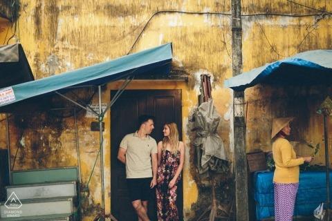 Vietnam Couple Portraits - Deze foto is gemaakt in Hoi An