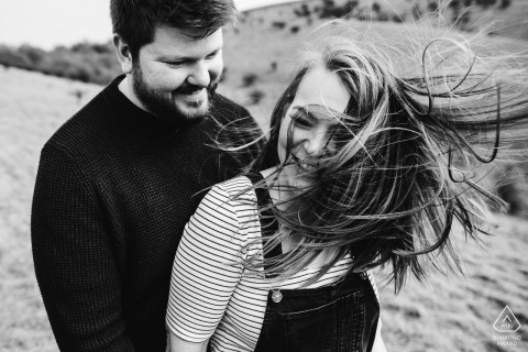 Engagement photo shoot at Barton Springs, Barton Seagrave - Bedfordshire, United Kingdom