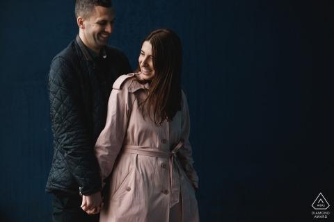 Portraits de pré-mariage Alexandra Palace | Tournage d'engagement