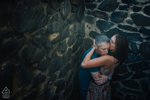 Ron Storer, of Washington, is a wedding photographer for