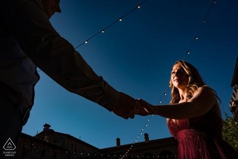 Séance de fiançailles de Napa Valley - il lui dit: Prends ma main