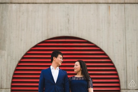 Engagement de Baltimore Photos | Half Circle - Amour complet