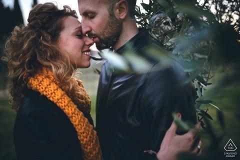 Mirko Vegliò, of Perugia, is a wedding photographer for