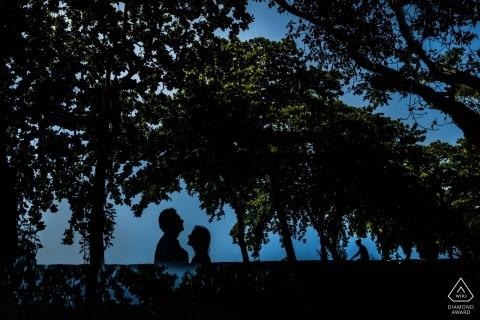 加勒堡,加勒,斯里蘭卡訂婚PhotoShoot與前婚禮夫婦