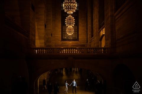 Grand Central Station New York Portrait Session Inside