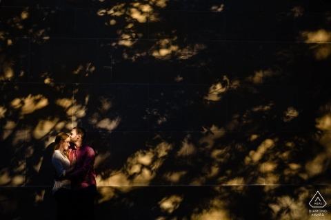 "Fotografo di matrimoni a Washington Square Park Philadelphia: ""Adoro la luce e l'ombra."