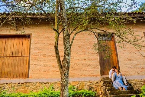 Joaquim Egidio campinas verlovingsportretten koppelen op de trappen