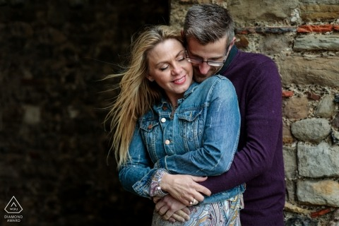 Coastal engagement shoot at Reculver Towers, Kent, UK