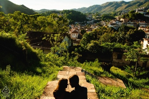 Ouro Preto, MG Pre bruiloft portretfoto's