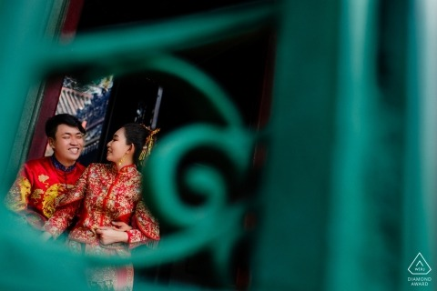 Ho Chi Minh Stadt vor Hochzeitsfotografie für Paare