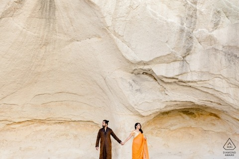 Cappadocia Pre-Wedding Photo Shoot - This Cool Couple Will Rock You