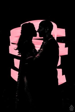 Pink of Love in Mumbai - Fotoshoot van Prewedding
