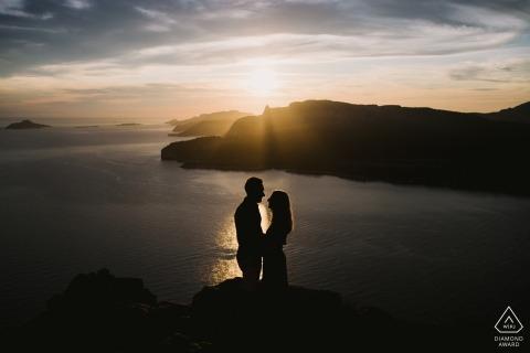 Retratos de pareja sobre el agua - Cassis France fotógrafo de compromiso