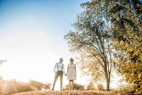 Séance couple at PACS - France- Oise engagement photography