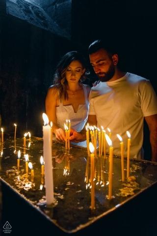 Armenia, klasztor Geghard - sesja zaręczynowa w Armenii