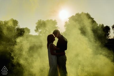 Federica Ariemma, of Napoli, is a wedding photographer for