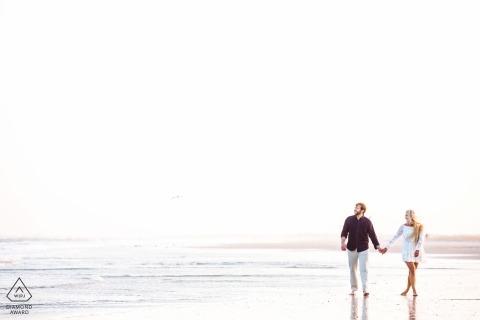 Avalon, Nueva Jersey Fotógrafo de bodas y parejas Retrato - Asbury Park Nueva Jersey Sesión de compromiso en la playa